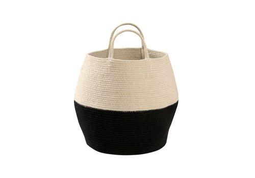Lorena Canals Basket Zoco 35x30 Black/natural