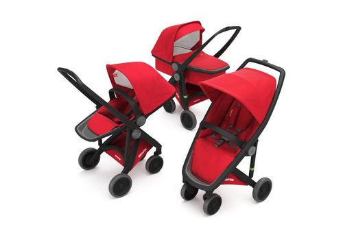 Greentom 3-in-1 Black/Red