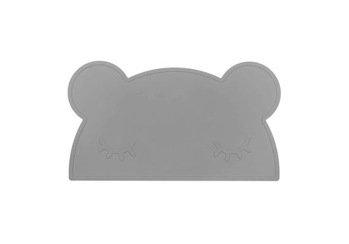 We Might Be Tiny Placemat Bear placie Grey
