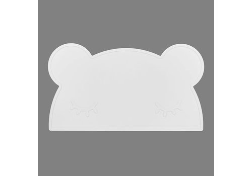 We Might Be Tiny Placemat Bear placie Snow white