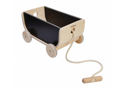 PlanToys Wagon black