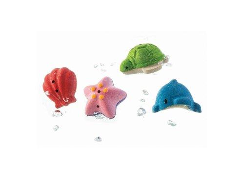 PlanToys Onderwaterwereld badspeeltjes