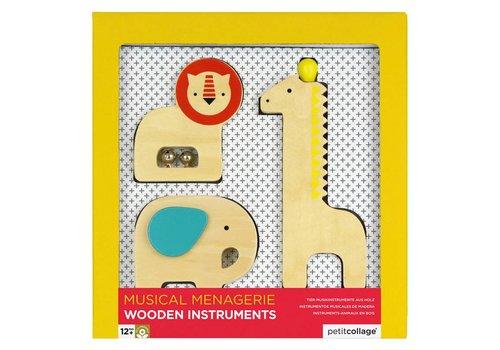 Petit Collage Houten speelgoedinstrumenten