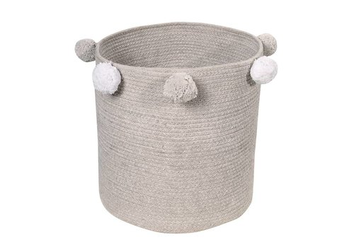 Lorena Canals Basket Bubbly 30x30 Light Grey