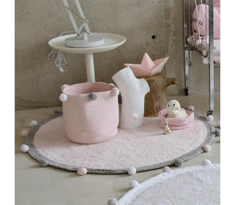 Opbergmand Bubbly 30x30 Soft Pink