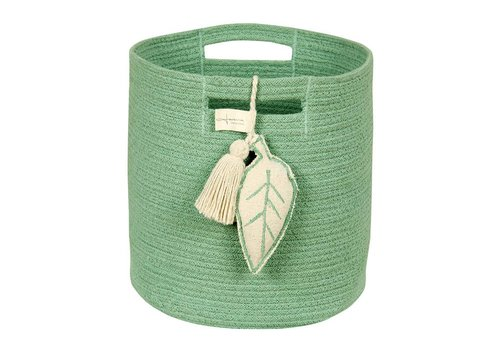 Lorena Canals Basket  Leaf 30x30 Green