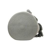 Basket Tassels 30x45 Light grey