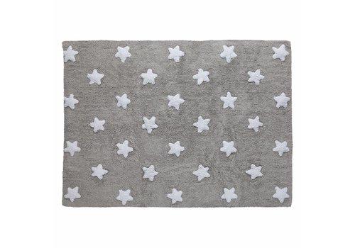 Lorena Canals Tapijt Stars 120x160 Grey-White