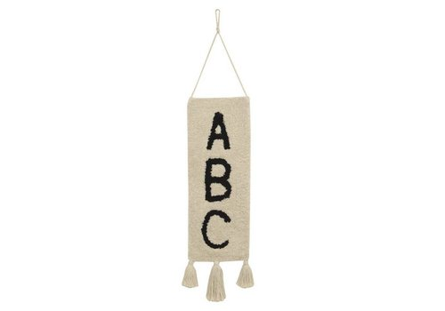 Lorena Canals Wall Hanging ABC 75x25