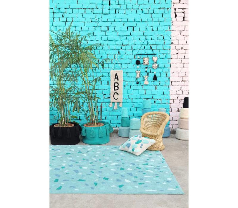 Wanddecoratie ABC 75x25