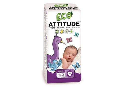 Attitude Little Ones Eco diapers size 1-2