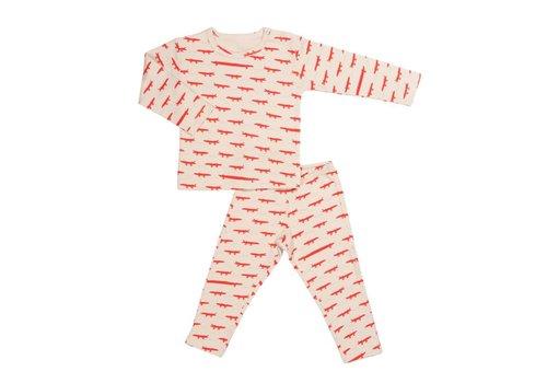 Trixie Baby 2-delige pyjama Crocodiles