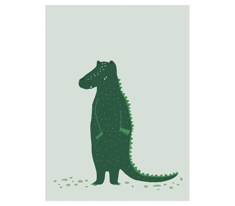 Poster Mr. Crocodile