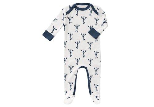Fresk Pyjama met voet Lobster indigo blue