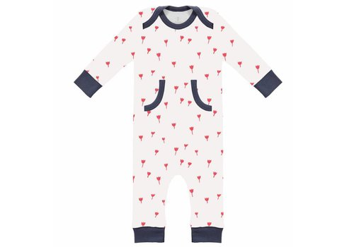 Fresk Pyjama zonder voet Tulip red