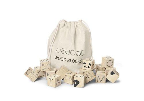 Liewood Houten blokken 16st