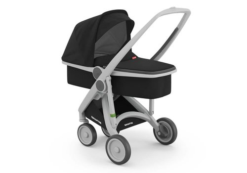 Greentom Carrycot Grey/Black