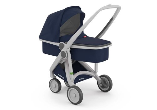 Greentom Carrycot Grey/Blue