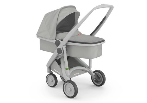 Greentom Carrycot Grey/Grey