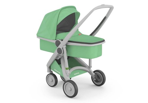 Greentom Carrycot Grey/Mint