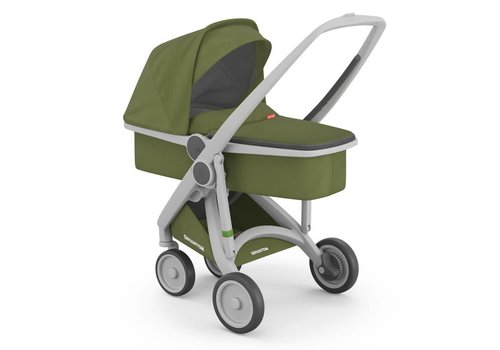 Greentom Carrycot Grey/Olive