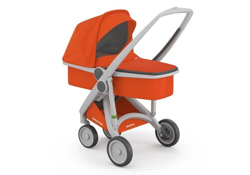 Greentom Carrycot Grey/Orange