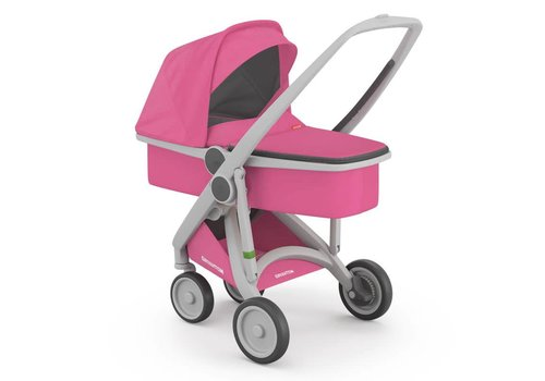 Greentom Carrycot Grey/Pink