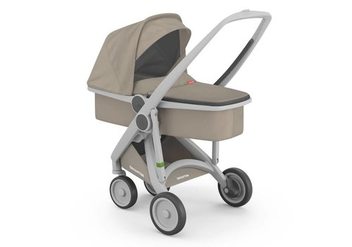 Greentom Carrycot Grey/Sand