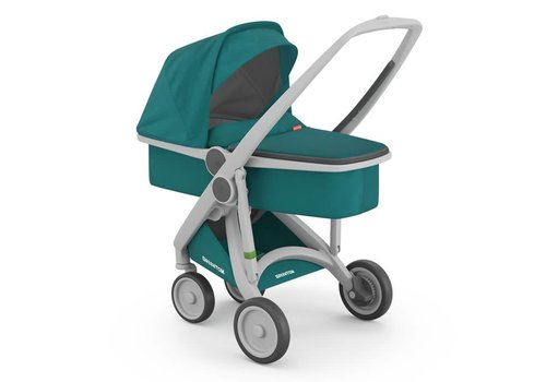 Greentom Carrycot Grey/Teal