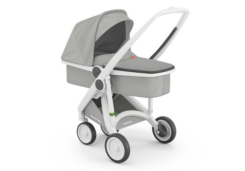 Greentom Carrycot White/Grey