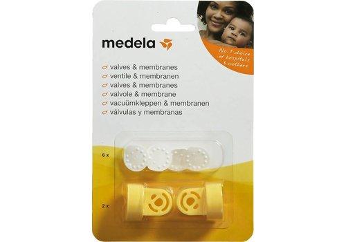 Medela Vacuümset kleppen en membranen
