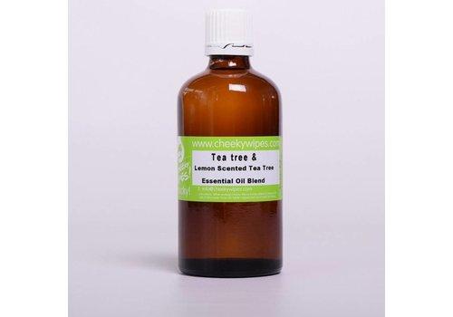 Cheeky Wipes Tea Tree & Tea Tree Lemon Essential Oil 50ml