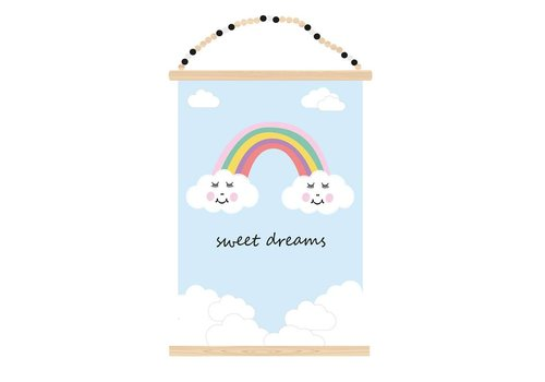 Sparkling Paper Poster A3 Sweet dreams