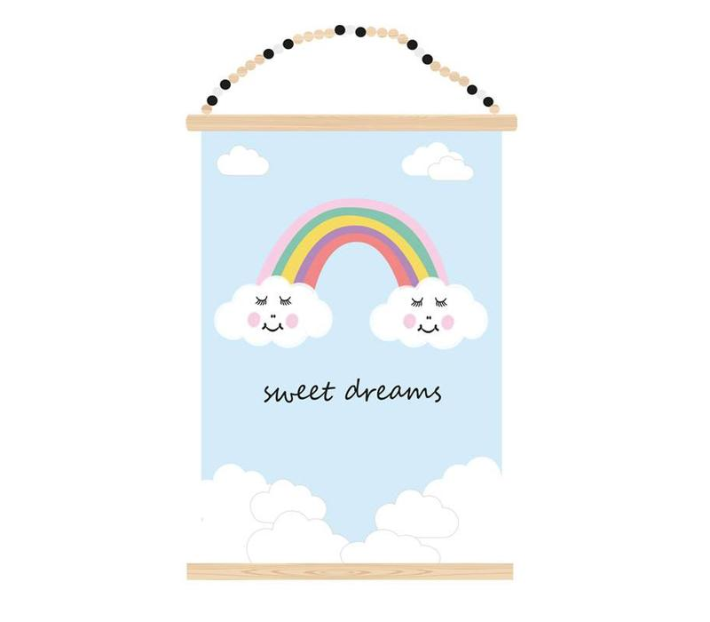 Poster A3 Sweet Dreams Atelier Bébé