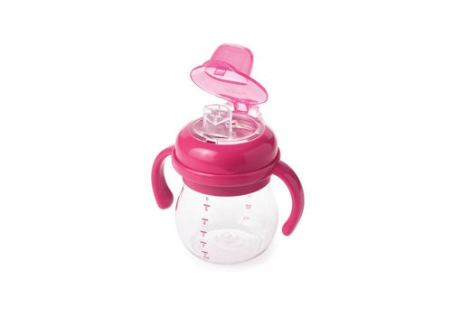 OXOtot Soft Spout Cup (180ml) 4m+ Pink