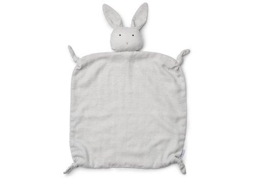 Liewood Knuffeldoekje Agnete Rabbit Dumbo Grey