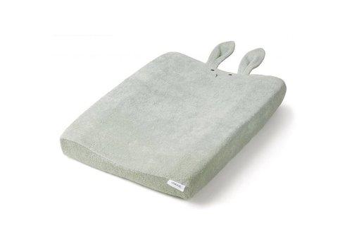 Liewood Hoes voor luierkussen Egon 62x50 Rabbit Dusty mint