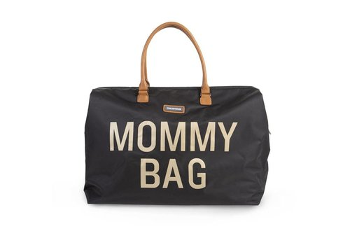 Childhome Mommy bag black/gold
