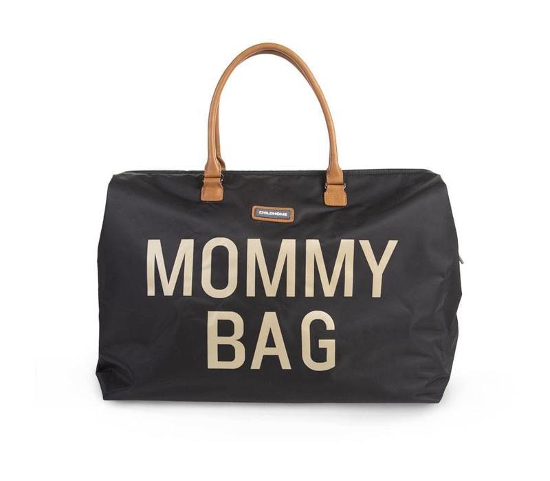 Mommy bag black/gold