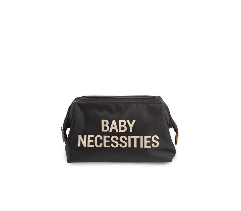 Baby necessities black/gold