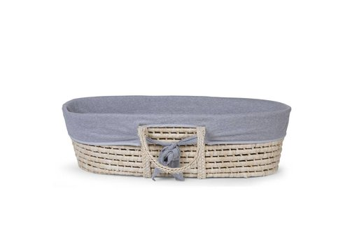 Childhome Moses basket cover jersey grey