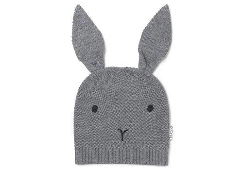 Liewood Muts Viggo Rabbit grey melange