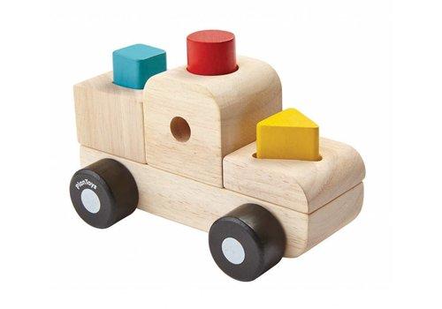 PlanToys Sorteerpuzzel - Vrachtwagen