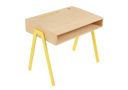 In2wood Desk Small yellow