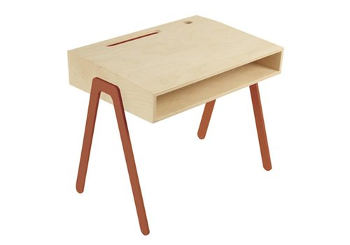 In2wood Desk Small rotorange