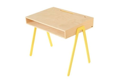 In2wood Desk Large yellow