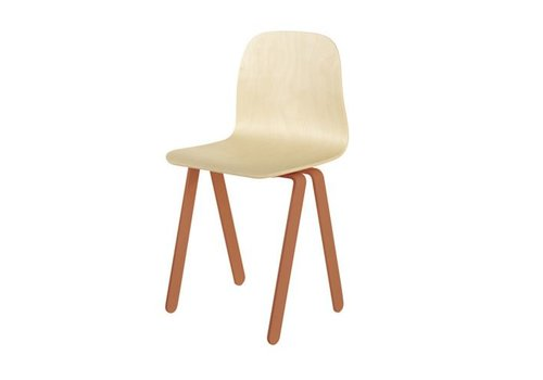 In2wood Chair Large rotorange
