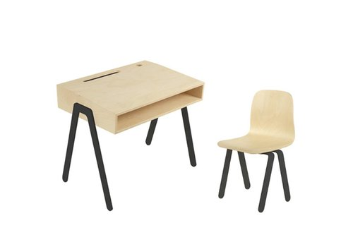 In2wood Desk & chair Small black