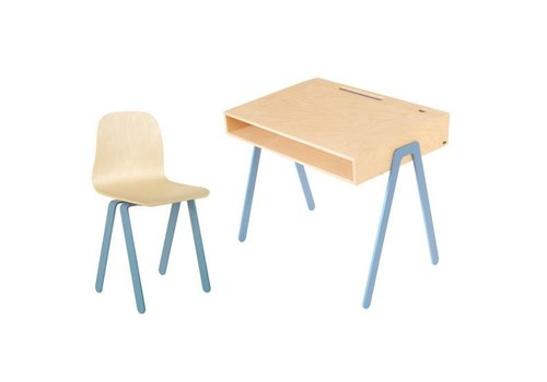 In2wood Desk & chair Large blue