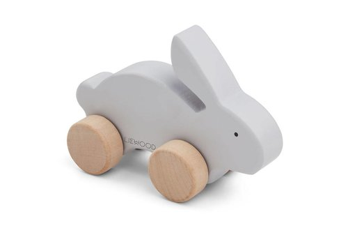 Liewood Elena Wood Toy Rabbit dumbo grey